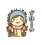 冬・可愛さUP女子スタンプ(個別スタンプ:07)