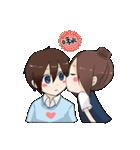 Couple's sticker(個別スタンプ:07)