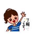 kira☆kira 女子スタンプ(個別スタンプ:06)