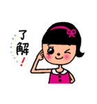 kira☆kira 女子スタンプ(個別スタンプ:07)