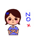 kira☆kira 女子スタンプ(個別スタンプ:11)