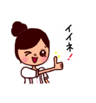 kira☆kira 女子スタンプ(個別スタンプ:12)