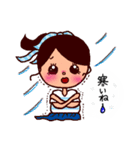 kira☆kira 女子スタンプ(個別スタンプ:25)
