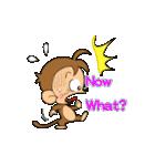 おさるのウッキー・モンキー・B77(バナナ)(個別スタンプ:18)