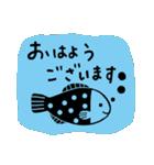かわいい動物達(影絵風)(個別スタンプ:1)