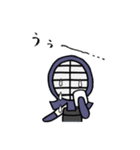 女子剣道部 ゆる美ちゃん 2(個別スタンプ:15)
