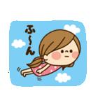 かわいい主婦の1日【かんたん返事編】(個別スタンプ:07)