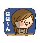 かわいい主婦の1日【かんたん返事編】(個別スタンプ:08)