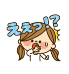 かわいい主婦の1日【かんたん返事編】(個別スタンプ:15)