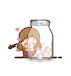 大人女子のかわいい瓶のメッセージ[敬語](個別スタンプ:23)
