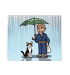 じじいと猫と時々マッチョ(個別スタンプ:34)