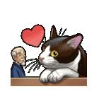 じじいと猫と時々マッチョ(個別スタンプ:40)