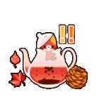 Autumn cats ~秋のパーティ!~(個別スタンプ:09)