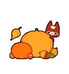 Autumn cats ~秋のパーティ!~(個別スタンプ:30)