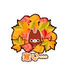 Autumn cats ~秋のパーティ!~(個別スタンプ:32)