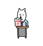 白クマ先生(個別スタンプ:15)