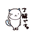 40匹の水玉猫(個別スタンプ:01)