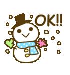 お絵かきガールズスタンプ3~冬ver.~(個別スタンプ:03)