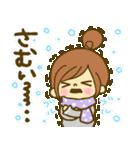 お絵かきガールズスタンプ3~冬ver.~(個別スタンプ:06)