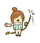 お絵かきガールズスタンプ3~冬ver.~(個別スタンプ:07)