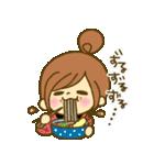 お絵かきガールズスタンプ3~冬ver.~(個別スタンプ:24)