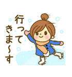 お絵かきガールズスタンプ3~冬ver.~(個別スタンプ:38)