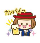 ベニちゃん2【合格.安産お守り有り】(個別スタンプ:16)