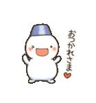 ゆきだるまん&ゆきうさ(個別スタンプ:07)