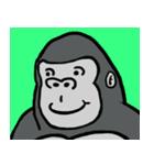 コスプレゴリラとそのバナナ(個別スタンプ:34)