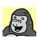 コスプレゴリラとそのバナナ(個別スタンプ:37)