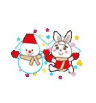 クリスマス&お正月の年賀状(個別スタンプ:34)
