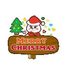 クリスマス&お正月の年賀状(個別スタンプ:40)