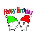 お誕生日&たくさんのおめでとう(個別スタンプ:01)