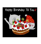 お誕生日&たくさんのおめでとう(個別スタンプ:40)