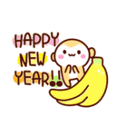 2016☆さる年あけおめスタンプ!(個別スタンプ:07)