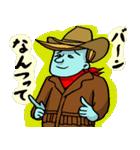 青いカウボーイ!(個別スタンプ:5)