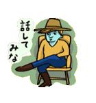 青いカウボーイ!(個別スタンプ:22)