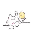 天使のネコとウサギ  仙台弁だっちゃ(個別スタンプ:23)