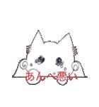 天使のネコとウサギ  仙台弁だっちゃ(個別スタンプ:25)