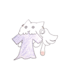 天使のネコとウサギ  仙台弁だっちゃ(個別スタンプ:31)