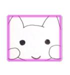 天使のネコとウサギ  仙台弁だっちゃ(個別スタンプ:33)