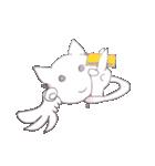 天使のネコとウサギ  仙台弁だっちゃ(個別スタンプ:34)