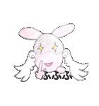 天使のネコとウサギ  仙台弁だっちゃ(個別スタンプ:36)