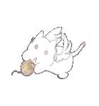 天使のネコとウサギ  仙台弁だっちゃ(個別スタンプ:39)
