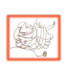 天使のネコとウサギ  仙台弁だっちゃ(個別スタンプ:40)
