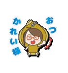 がんばれ眼鏡女子3 着ぐるみ編(個別スタンプ:34)