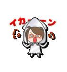 がんばれ眼鏡女子3 着ぐるみ編(個別スタンプ:35)