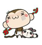 ゆるゆるもんちー8☆クリスマスあるある☆(個別スタンプ:18)
