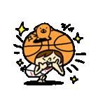 がんばれ!バスケットボール(個別スタンプ:04)