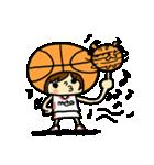 がんばれ!バスケットボール(個別スタンプ:08)